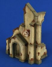 Verlinden 1/35 Ruined Church Corner Entrance Section [Plaster Diorama kit] 2598