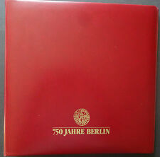 NO13-2) 750 Ans Berlin Collection im Borek Album 2 Albums 35 FDC Bijoux FDC