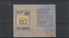 Gambia 2013 MNH United Nations World Radio Day 1v S/S February 13