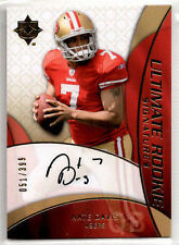 2009 UD Ultimate Collection NATE DAVIS Rookie RC Signatures /399 Auto 49ers #220