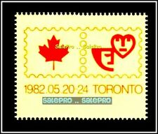 CANADA 1982 CANADIAN INTERNATIONAL MINT PHILATELIC EXHIBITION MNH SHEET STAMP