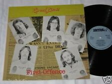 SPEED LIMIT first offence LP Satril Rec. UK 1978 ROCK