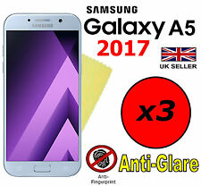 3x HQ MATTE ANTI GLARE SCREEN PROTECTOR COVER FILM GUARD SAMSUNG GALAXY A5 2017