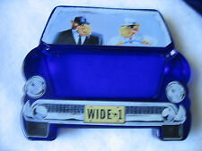 Indigo Blue Glass Camel Joe - WIDE 1 - CAR Ashtray