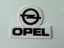 MOTORSPORTS MOTOR RACING CAR SEW / IRON ON PATCH:- OPEL (a)