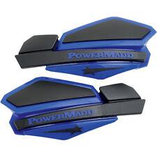 PowerMadd Star Series Replacement ATV Handguards Hand Guards Blue Black 34204