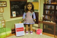 "American Girl / Truly Me - ""School Stripes Dress"" - COMPLETE & NIB"