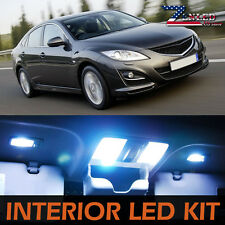 9pcs Interior LED Light Package Kit Super White For 2009-2012 Mazda 6