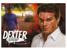 Dexter Season 4 Trading Cards ~ COMPLETE 72-CARD BASE SET