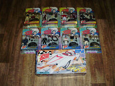 "SPEED RACER 16"" MACH 5 PLAY SET AND ALL ACTION FIGURES 1999 NEAR MINT CONDITION"