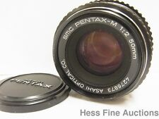SMC Tamron Adaptall for Pentax K Model 4276873 1:2 50mm M Lens No Reserve