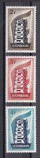 Luxemburg 1956 postfrisch MiNr. 555--557