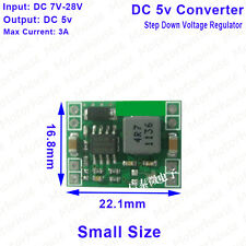 DC-DC 9V/12V/24V to 5V 3A Step Down Voltage Regulated Power Supply Konverter