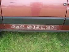 """KIT COMPLETO FIAT PANDA 4X4 """"SISLEY"""" NERO 600 8095"""