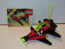 LEGO SPACE No 6877 M-TRON VECTOR DETECTOR 100% COMPLETE + INSTRUCTIONS