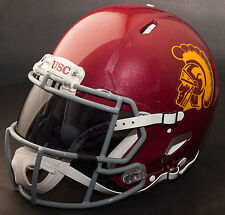 USC TROJANS NCAA Authentic GAMEDAY Football Helmet w/ OAKLEY Eye Shield