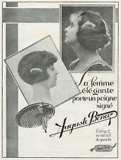 J0764 Auguste BONAZ - Paris - Pubblicità grande formato - 1924 Old advertising