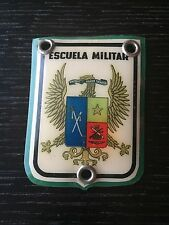 Vintage Colombia Army Cadet Military School Coat of Arms Plastic Badge –LC3