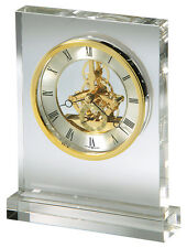 "645-682 HOWARD MILLER TABLE TOP CLOCK ""PRESTIGE"""