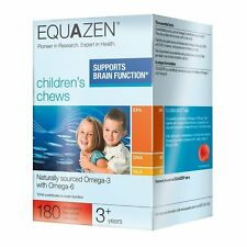 !!! nuevo!!! Equazen Eye Q Niños Masticables X 180, soporte de la función cerebral