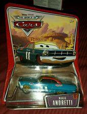 NIP DISNEY PIXAR WORLD OF CARS, MARIO ANDRETTI CAR 11, #22