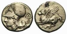 Griechen: Akarnanien Leukas. Stater 4. Jh. v. Chr. Rs. Kratzer, ss-vz (MR102008)