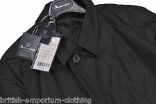 AQUASCUTUM Black Packaway Aquamac Made In UK Size UK36/38 Reg BNWT