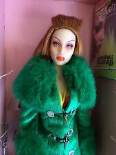 Mint in box SYBARITE SUPERDOLL Viridian  kinky look dressed doll Gen X.2