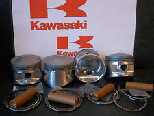 KAWASAKI Z750 KZ750 GT750 GPZ750 PISTON KITS (4) NEW +0.5mm OVERSIZE KiR 11050
