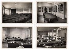 LOT 4 PHOTOS - DENTISTE ÉCOLE DE DENTISTE MÉDICAL PROTHÈSE ATELIER - VERS 1930