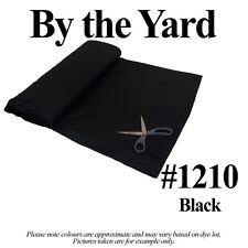 """Broadcloth Fabric 45"""" Cotton Polyester Blend - 10 Yard Bolt (39 Colors)"""