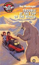 Trouble at the Top of the World (Screech Owls)-ExLibrary
