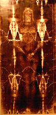 SHROUD OF TURIN Actual Size 89x43 printed on Quality ART Canvas