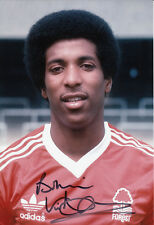Nottingham Forest Hand Signed Viv Anderson Photo 12x8 1.