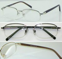 HM04 Superb Quality Metal Semi Rimless Reading glasses/Spring Hinges Super Value