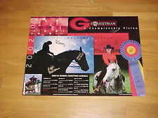 2002 Georgia Bulldogs Equestrian Team Autographed Signed Poster 1st Season
