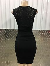new nwt enfocus studio cocktail evening party formal black m dress 8 US/36-38EU
