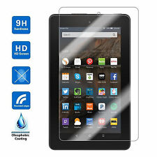 Tempered Glass Screen Protector Film Guard Cover Fr Amazon Kindle Fire HD 7 2015