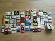 Lot of 99 Vintage Hotel Motel Airline train Advertising Soap Bars Lot Wrapped