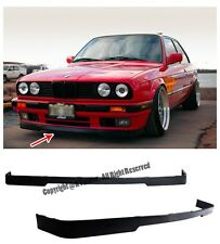 For 84-92 BMW E30 3-Series IS VALANCE Front Bumper Lower Lip Splitter Kit PP OE