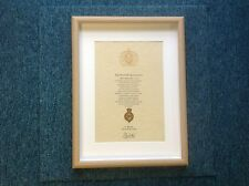 Blues And Royals Oath Of Allegiance With Cap Badge and Sovereign's Shilling