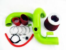 00-05 Celica 1.8 L4 VVTi GT GTS Green Cold Air Intake System - Red Filter