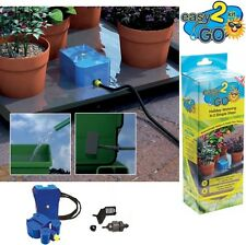 EASY TO GO AUTOMATIC PLANT HOLIDAY SELF WATERING FLOWER PLANT POT GARDEN KIT
