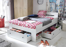 Great double bed with storage, spacious! different colours! Mattress option!