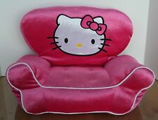 Build A Bear Hello Kitty Pink Velour Couch Sofa Chair Plush Animal Furniture