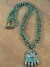 Ava Marie Coriz Santo Domingo Turquoise  Necklace