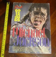 MICHAEL JACKSON  King of Pop Music  BIOGRAPHY MAGAZINE  BOOK Argentina