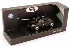 1:43 VW Beetle 2011 schwarz black Motiv Billardkugel Eight Ball - Dealer-Edition