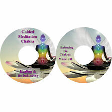 Guided Meditation Chakra Guarigione e Riequilibrante e Chakra Musica on 2 CDs