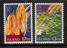 ICELAND SG707/8 1987 CHRISTMAS   MNH